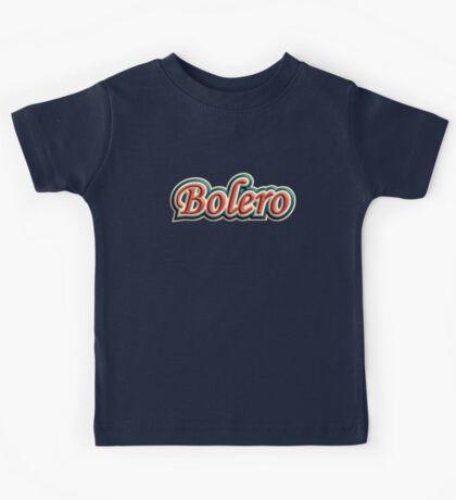 Wonderful bolero Kids Tee
