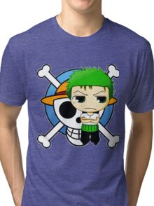 zoro-one piece Tri-blend T-Shirt