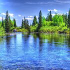 A River in Yellowstone by Tori Snow