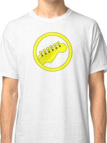 Guitar ring (yellow) Classic T-Shirt