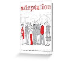 adaptation Greeting Card