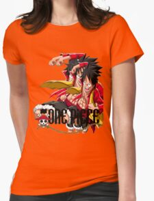 luffy Womens Fitted T-Shirt