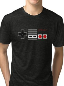 Let's play - Controller Tri-blend T-Shirt