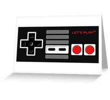 Let's play - Controller Greeting Card