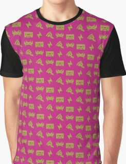 rd pattern - pink yellow Graphic T-Shirt