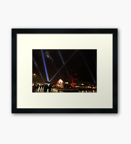 Dark mofo 2014  Framed Print