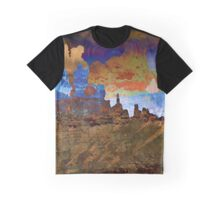 Southwestern Desert Landscape Abstract  Graphic T-Shirt