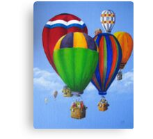 Up, Up and Away Again by Heather Holland Canvas Print