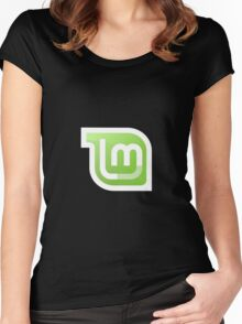 Linux Mint Gnome Kde Tees Women's Fitted Scoop T-Shirt