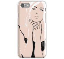 La Femme 02 iPhone Case/Skin