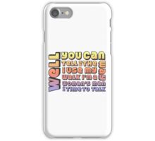 Staying Alive iPhone Case/Skin