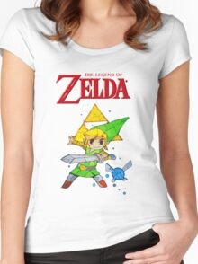 Link, I am a Legend Women's Fitted Scoop T-Shirt