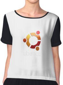 Linux Ubuntu Tees Chiffon Top
