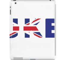 Britain is FUKED iPad Case/Skin