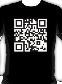 QR CODE Black  T-Shirt