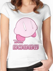 Team Kirbyy Women's Fitted Scoop T-Shirt