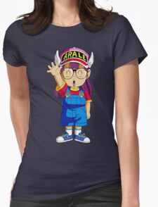 Arale  Womens Fitted T-Shirt