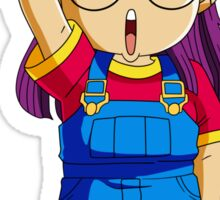 Arale  Sticker