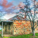 Denham's Cottage in Hill End in HDR by Michael Matthews