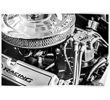 289 Ford Mustang V8 Engine Poster