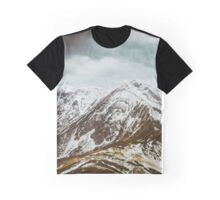 view on the High Tatras IV Graphic T-Shirt