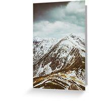 view on the High Tatras IV Greeting Card