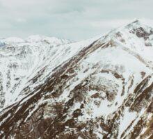view on the High Tatras IV Sticker