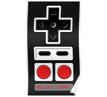 Select Start - Controller Poster