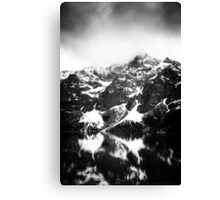 view on the High Tatras I Canvas Print