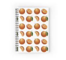 Juicy Orange Spiral Notebook