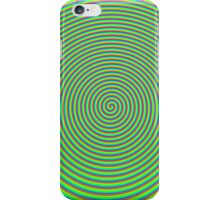 Trippy Colors Green iPhone Case/Skin