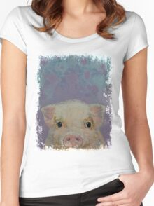 Piglet Women's Fitted Scoop T-Shirt