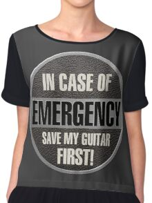 Save my guitar Chiffon Top