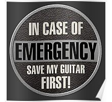 Save my guitar Poster