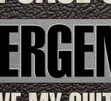 Save my guitar Sticker