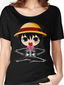 skull luffy-one piece Women's Relaxed Fit T-Shirt