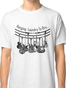 Hanging Laundry To Dry  Classic T-Shirt