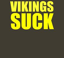 Green Bay Packers - Vikings Suck - Gold text Unisex T-Shirt