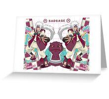 Jiraiya Greeting Card