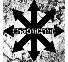 Comical Carnage - ChaotiCritic Photographic Print