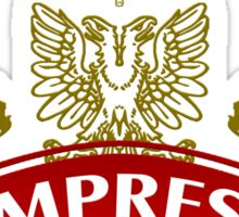 The Empress Coat-of-Arms Sticker