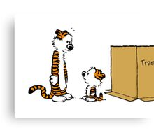 hobbes twin Canvas Print