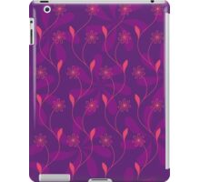 Flowerline – violet iPad Case/Skin