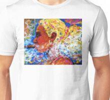 Blondie and her smoke Unisex T-Shirt