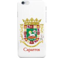 Caparros Shield of Puerto Rico iPhone Case/Skin