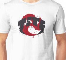 TSTF logo (red + black) Unisex T-Shirt