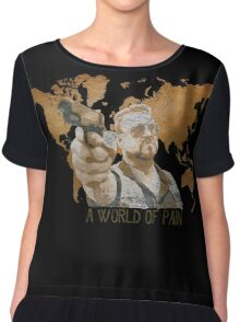 A World Of Pain Women's Chiffon Top