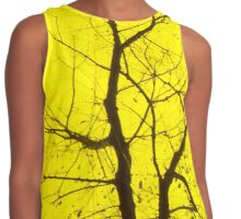 Central Yellow Tree Contrast Tank
