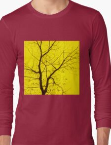 Central Yellow Tree Long Sleeve T-Shirt