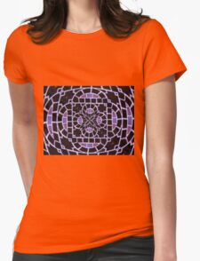 Shades Of Lavender Womens Fitted T-Shirt